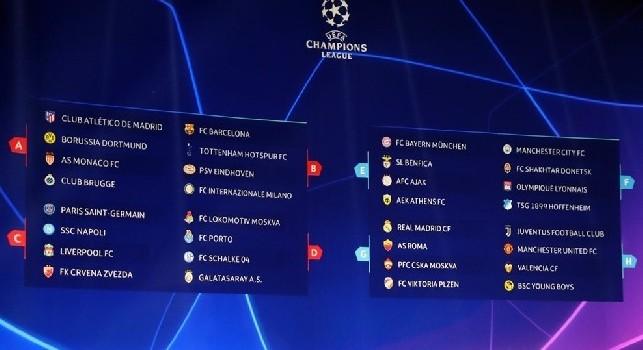 Calendario Champions Ottavi.Champions League 12 Club Gia Qualificati Agli Ottavi E