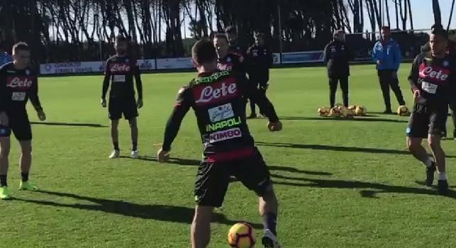 SSC Napoli, oggi la ripresa degli allenamenti a Castel Volturno