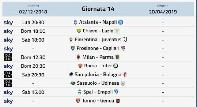 Dove Vedere In Streaming E Tv Le Partite Di Serie A Fiorentina Juventus Milan Parma Roma Inter Atalanta Napoli
