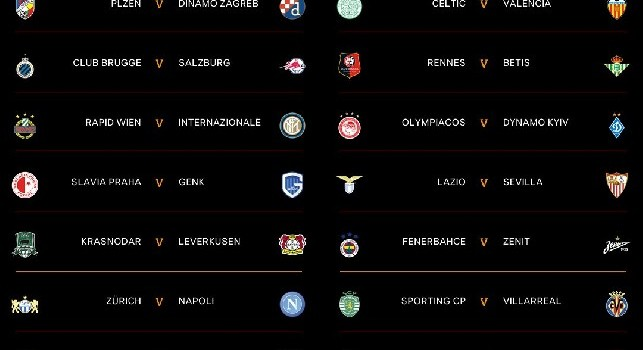 Sorteggio Europa League 2019 20