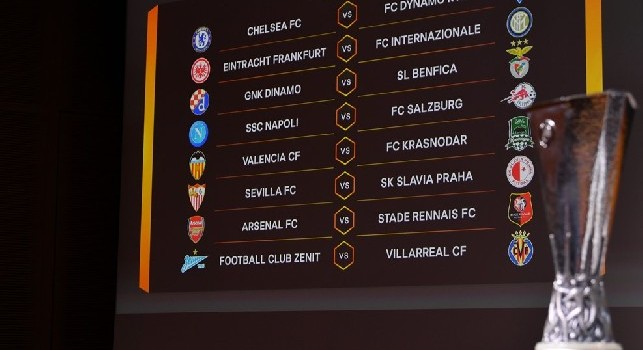 Calendario Europa League Ottavi.Sorteggi Europa League Ottavi 2019