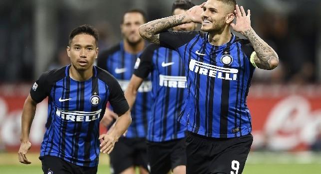 Mercato Inter Clamoroso Sportmediaset Icardi Napoli Domani Incontro Tra Adl E Wanda Nara
