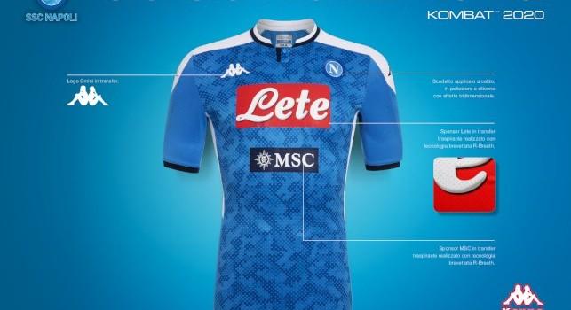 Calendario Crociere Cagliari 2020.Nuova Maglia Napoli 2019 2020 Msc Crociere Torna Sponsor
