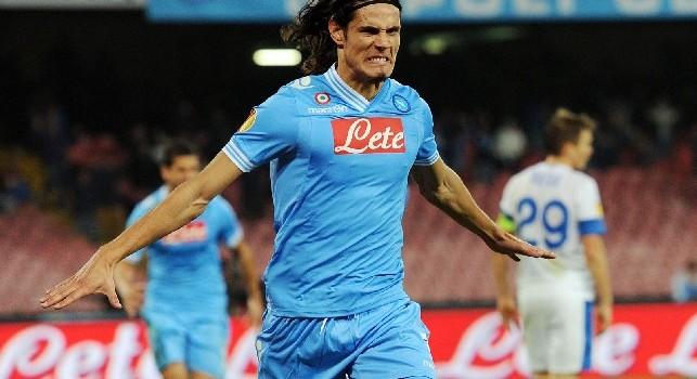 La Ssc Napoli Ricorda L Ultimo Gol Di Cavani Il Racconto Della Gara