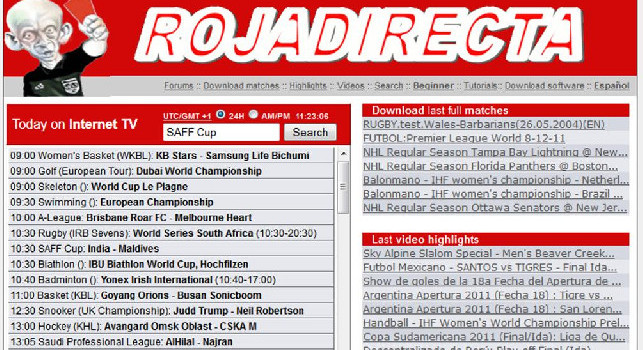 Rojadirecta Siti Di Calcio Streaming Gratis Siti Legali Calcio Live Streaming Hesgoal E Roja Directa