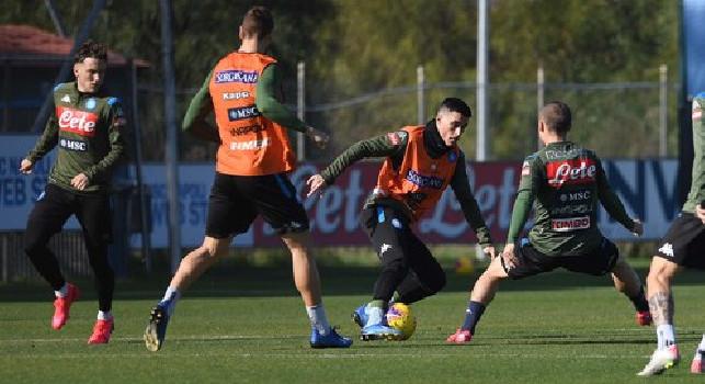 SSC Napoli, il report: Manolas assente! Ghoulam in gruppo, Malcuit ...
