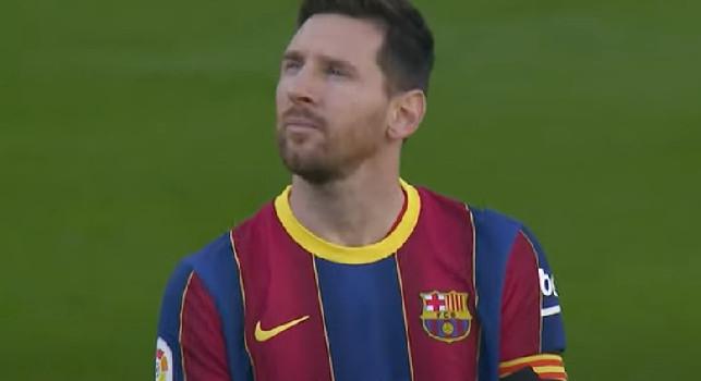 Photo of Il Barcellona omaggia il ricordo di Maradona con una maglia celebrativa: occhi al cielo per Leo Messi nel minuto di raccoglimento [VIDEO]