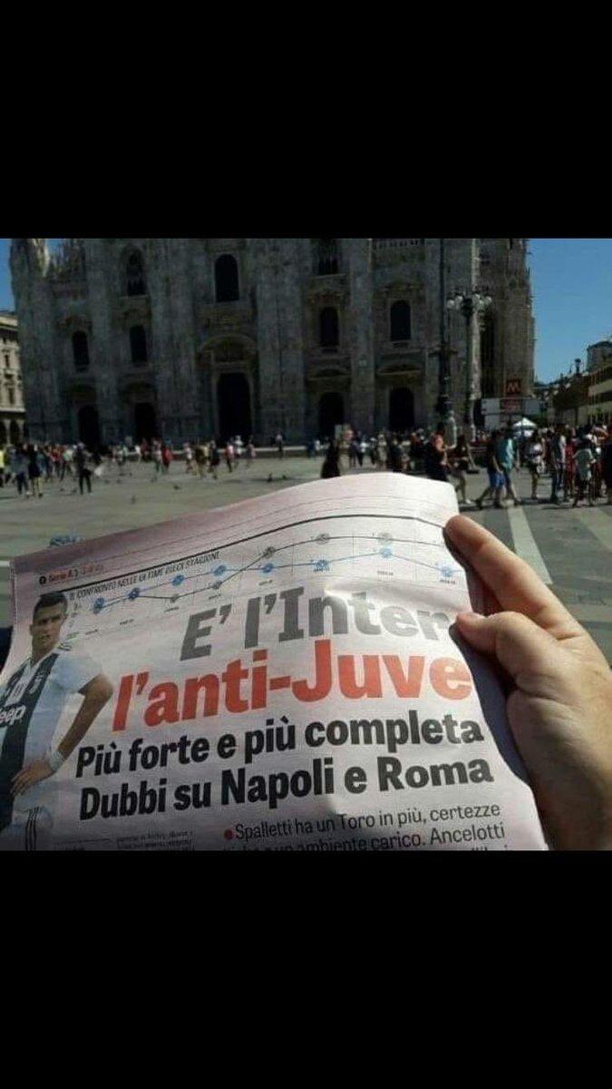 Gazzetta Inter anti Juve