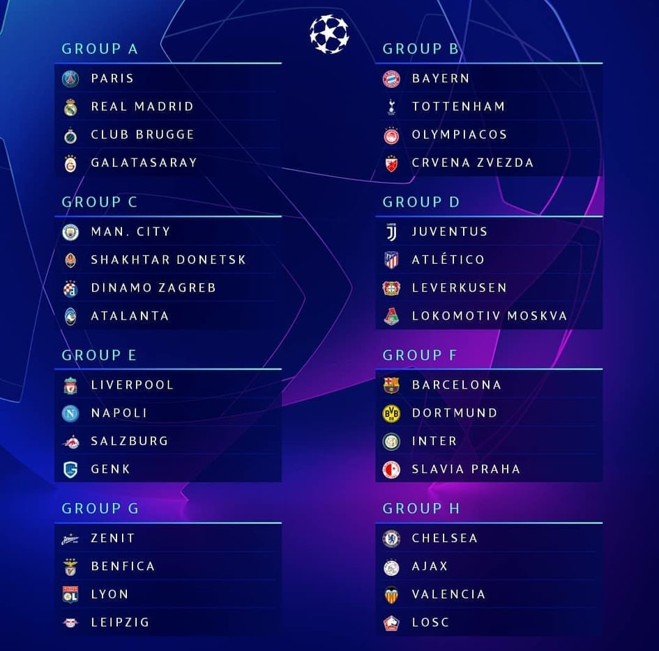 Champions League, Genk-Napoli