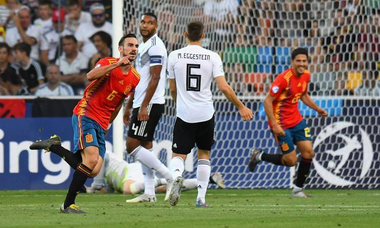 Fabian Ruiz Spagna-Germania