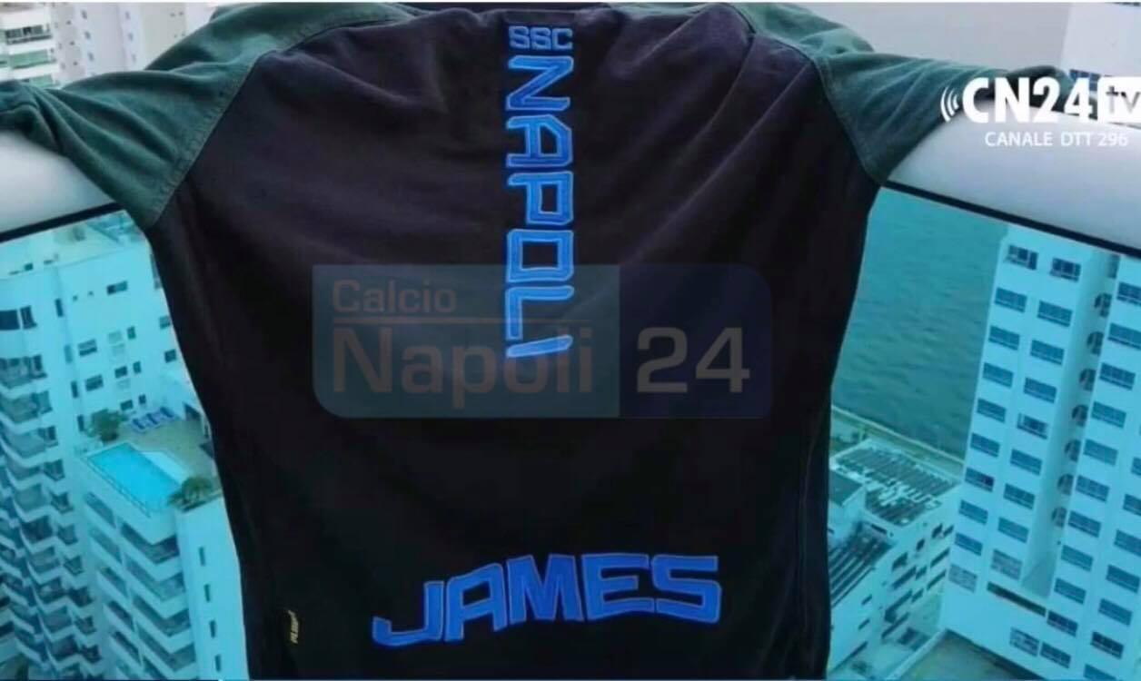 Maglia Napoli James Rodriguez