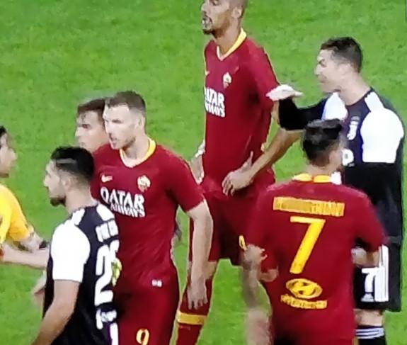 Ronaldo Florenzi Roma Juve