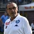 GRAFICO - Napoli-Feralpi Salò, la formazione ufficiale degli azzurri