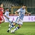 Serie B, Crotone-Pescara: eurogoal di Campagnaro! L'ex azzurro segna di tacco sugli sviluppi di un corner [VIDEO]