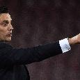 """Fiorentina, Montella su Instagram: """"Avvio complicato e in salita, incontreremo squadre forti"""""""