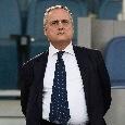 Lazio, Lotito convoca la squadra in ritiro per la prossima settimana: arriva il via libera di calciatori e staff tecnico
