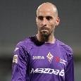 Napoli-Fiorentina, tripla sostituzione per i viola: in campo entrano Borja Valero, Martinez Quarta e Pulgar
