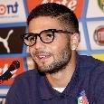 """Insigne: """"Sarri alla Juve, spero cambi idea! Per noi napoletani è tradimento. Napoli? Voglio dare il triplo, fa male non vincere"""""""