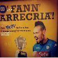 "Hamsik testimonial M&M'S, lo spot <i>invade</i> Napoli: ""Me fann arrecrià!"" [FOTOGALLERY]"