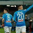 Napoli-Lazio, formazioni ufficiali: Ancelotti sceglie Malcuit e Diawara, in attacco la coppia Milik-Mertens. Inzaghi col 3-5-2