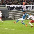 """Le pagelle di SportMediaset: """"Zielinski dà speranza, Insigne non basta. Hamsik non è in serata..."""