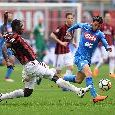 Milan, Zapata KO: problema muscolare per lui, a rischio per il Napoli