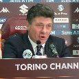 """Torino, Mazzarri: """"Napoli micidiale, lì anni eccezionali! Hamsik l'esempio dei giovani, è un grande uomo. Possiamo fare risultato"""" [VIDEO]"""