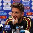 Belgio-Francia, ancora panchina per Mertens: l'azzurro spera di entrare a partita in corso