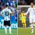 Opta - Messi e Ronaldo mai a segno nella fase ad eliminazione diretta! Non regge il paragone con Diego Armando Maradona