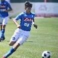 ESCLUSIVA - Il giovane Vigliotti rinnova con il Napoli: l\'attaccante classe 2005 ha firmato un accordo annuale [FOTO]