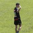 Alex Meret, fantastica notizia da Dimaro: è in campo senza gesso! [FOTO CN24]