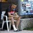 Buone notizie per Carlo Ancelotti: torna ad allenarsi Zielinski, palestra per il polacco
