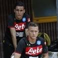 Zielinski e Callejon out: i due sono a bordocampo, Piotr con la caviglia immobilizzata [FOTOGALLERY CN24]