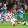 Napoli-Stella Rossa, le probabili formazioni: Ancelotti conferma Mertens e ritrova il duo Hamsik-Fabian. Serbi con diverse assenze