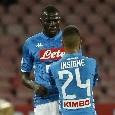 """SSC Napoli, la radio ufficiale annuncia: """"Insigne valutato 100 milioni, il Real ne offre 130 per Koulibaly"""""""