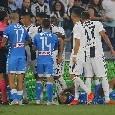 IL GIORNO DOPO Juventus-Napoli...i tre azzurri venuti meno, l'assist di Hysaj e la pressione organizzata