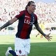 Bologna nuovamente in vantaggio: gol fortunoso di Santander al minuto 88