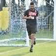 """Comunicato SSC Napoli: """"Luperto torna a Castel Volturno a causa di un affaticamento muscolare"""""""