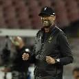 Liverpool, i convocati di Klopp per la sfida contro il Napoli: out Origi, Alisson, Van den Berg e Keita
