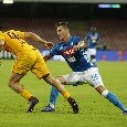 Napoli-Roma, le pagelle: Mertens rapace, Fabián alla Michu! Koulibaly a vuoto, Insigne...pure. Hamsik record agrodolce