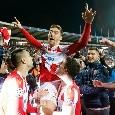 """ESCLUSIVA - Stella Rossa, Pavkov: """"Godo ancora per la doppietta al Liverpool! Bello essere il nuovo idolo, ma voglio segnare anche al San Paolo. A Napoli per vincere"""""""