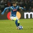 RAI - Cena tra l'agente di Hysaj e il Napoli, Callejon può restare un altro anno. Mancini, Tonali e Lazzari non rientrano nei piani azzurri