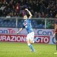 Genoa-Napoli, le pagelle: Fabián salva tutti, Mertens che impatto! Milik e Zielinski inconsistenti, Hysaj insicuro