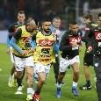 Opta - Il Napoli è la squadra che ha guadagnato più punti da situazione di svantaggio