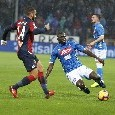 """SSC Napoli: """"Koulibaly tra i cinque candidati per l'African Footballer of the year"""""""