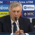 "Ancelotti in conferenza: ""Partita intelligente, la squadra mi dà sicurezze. L'Atalanta contro l'Inter ci ha spaventato, per lo scudetto dipende dalla Juve..."" [VIDEO]"