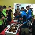 Juve Stabia-Napoli, allenamento congiunto e terzo tempo tra settori giovanili [FOTO]