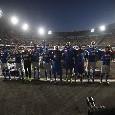 """""""Forza ragazzi, noi ci crediamo!"""": la Curva B incita gli azzurri in vista della sfida contro il Liverpool [VIDEO CN24]"""