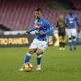 Napoli in vantaggio al minuto 18: delizioso tiro a giro di Younes, prima gioia con la maglia del Napoli [FOTOSEQUENZA]