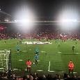 """I tifosi inglesi intonano """"You'll never walk alone"""" prima del fischio d'inizio, atmosfera da brividi! [VIDEO CN24]"""